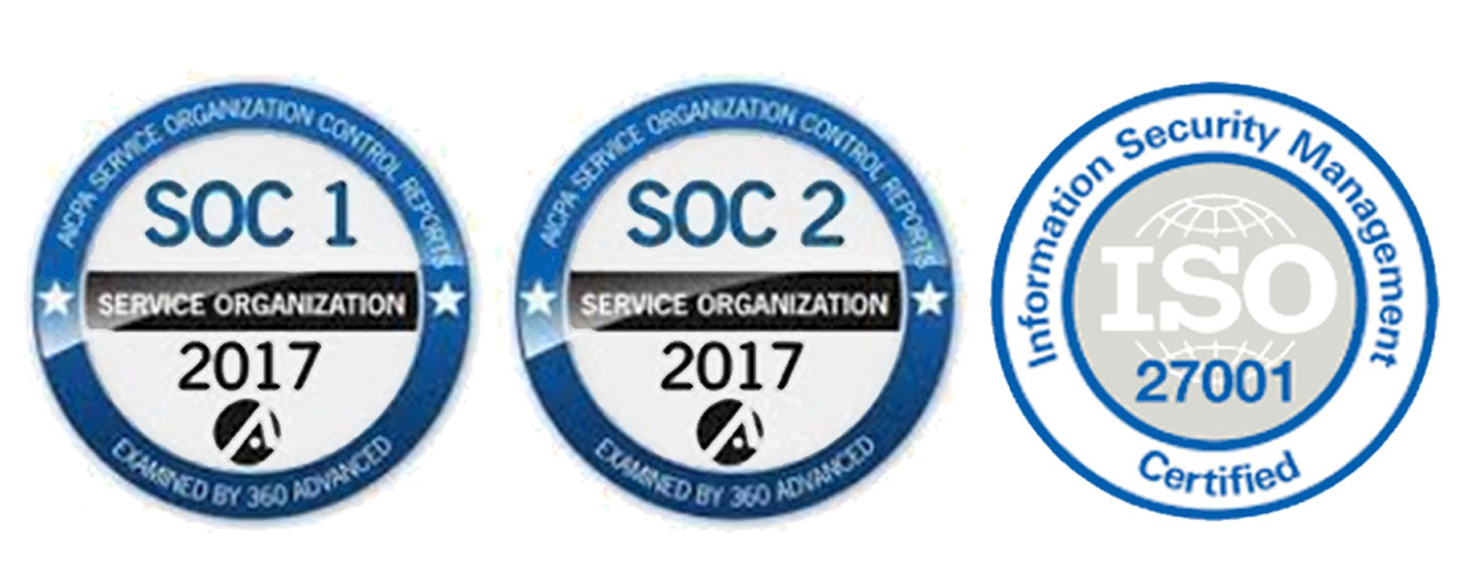 DocVu.AI is a SSAE 18 | SOC 1 & SOC 2 and ISO 27001 organization.